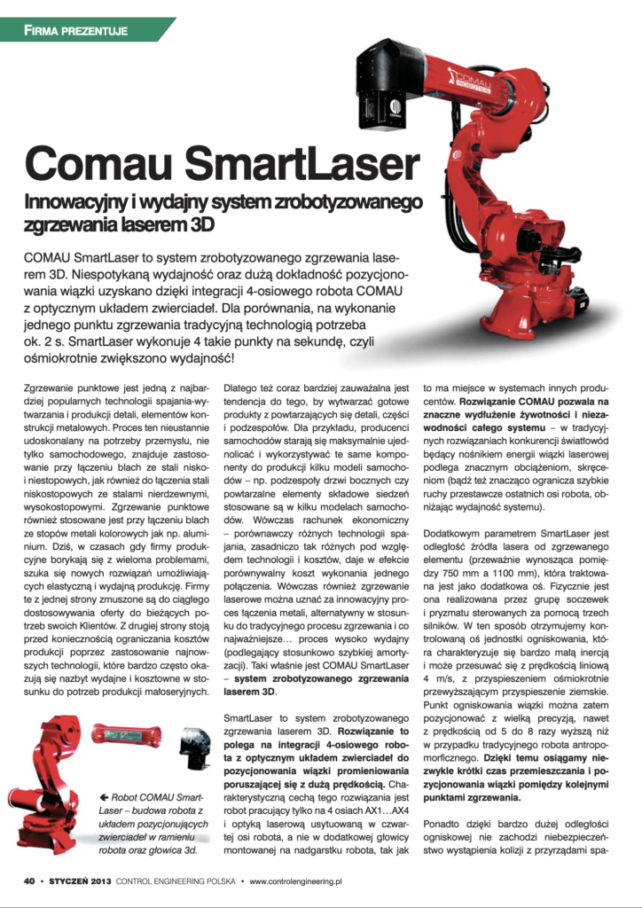CONTROL ENG 1_2013___COMAU 2013 SMART LASER_Pages 40-43 from CE 01 2013